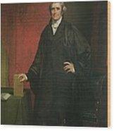 Chief Justice Marshall Wood Print