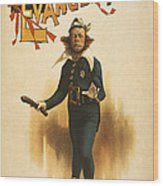 Chief Of Police Wood Print