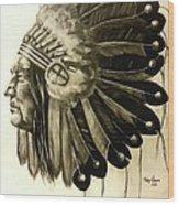 Chief  Wood Print