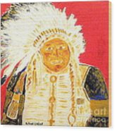 Chief Seattle 1 Wood Print
