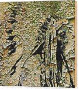 Chief Sitting Bull History Wood Print