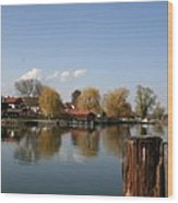 Chiemsee - Germany Wood Print