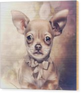 Chihuahua Puppy Wood Print