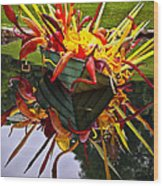 Chihuly Float Wood Print