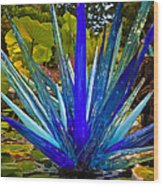 Chihuly Lily Pond Wood Print