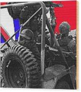 child soldier 100th anniversary parade nogales Arizona 1980-2012 Wood Print