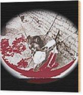 Child Tohono O'odham Hammock #1 Unknown Location And Date - 2013 Wood Print