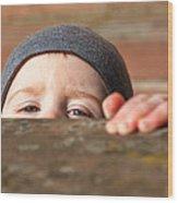 Childlike Curiosity Wood Print