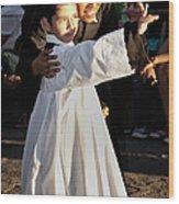 Children Of God Wood Print