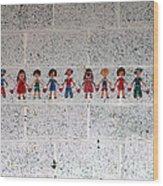Children Of The World Wood Print