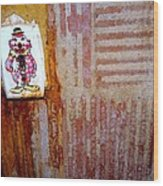 Children's Ward Clown Light Switch Wood Print