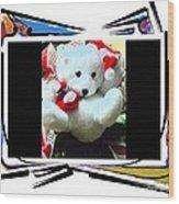 Child's Teddy Bear Wood Print