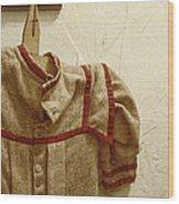 Child's Wardrobe Wood Print