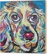Chili Dog Wood Print