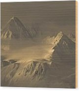 Chilkat Range Wood Print