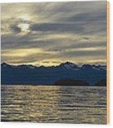 Chilkat Sunset Wood Print
