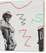 Chill Wills The Alamo Homage 1960 Wood Print