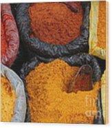 Chilli Powders 2 Wood Print