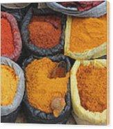 Chilli Powders 3 Wood Print
