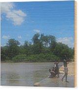 Chilonga Bridge Wood Print
