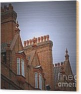 Chimney Pots Wood Print