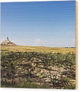 Chimney Rock - Bayard Nebraska Wood Print