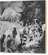 China Burma Road, 1944 Wood Print
