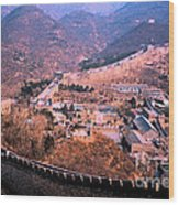 China Great Wall Adventure By Jrr Wood Print