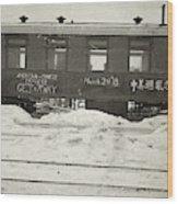 China Railroad, 1918 Wood Print
