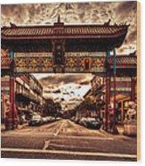 China Town Victoria Wood Print