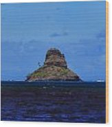 Chinaman's Hat Island-kane'ohe Bay Oahu Hawaii Wood Print