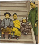 Chinatown Family Wood Print