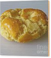 Chinese Almond Cookie Wood Print