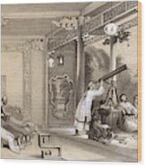 Chinese Ceremonies Performed  When An Wood Print