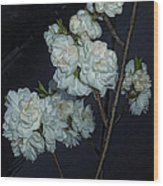 Chinese Flowers Wood Print