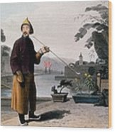 Chinese Gentleman, From A Picturesque Wood Print