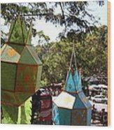 Chinese Lanterns - Wat Phrathat Doi Suthep - Chiang Mai Thailand - 01135 Wood Print