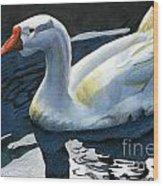 Chinese Waterfowl Wood Print