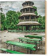 Chinesischer Turm I Wood Print