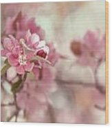 Chintz Wood Print