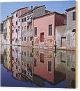 Chioggia Wood Print by Giorgio Darrigo
