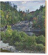 Chippewa River Ontario Canada Wood Print