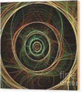 Chirality Wood Print by Kim Sy Ok