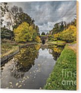 Chirk Canal Wood Print