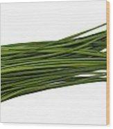 Chives Wood Print