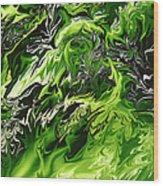 Chlorophylle Wood Print
