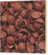 Chocolate Cereals Wood Print