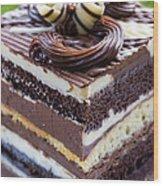 Chocolate Temptation Wood Print by Edward Fielding
