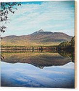 Chocorua Lake Wood Print