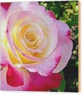 Choice Garden Rose Wood Print